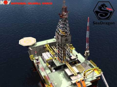 Sea Dragon Offshore Semi Submersible Drilling Rig