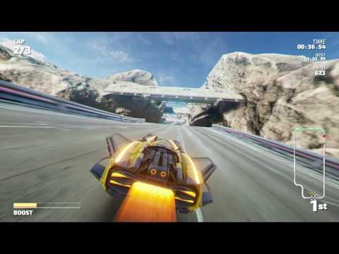 Fast RMX - Championship Mode - Gallium Cup (Subsonic)