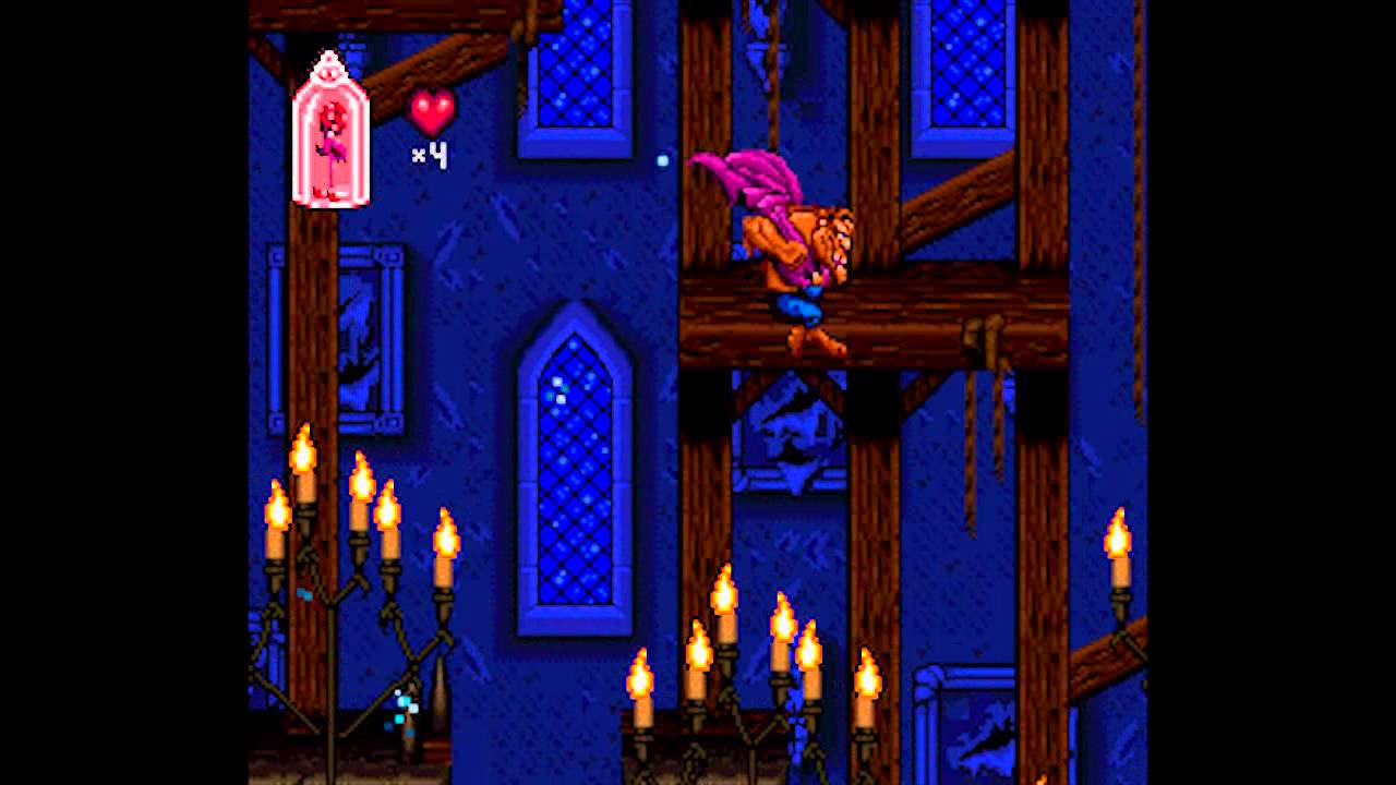 Disney's Beauty and the Beast (SNES) - Part 1: Stages 1 & 2 (No ...