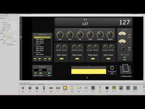Mainstage 2 - Adding a backing track - Part 1 of 3
