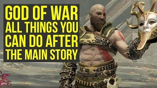God of War Tips ALL THINGS You Can Do After You Beat The Game (God of War 4 Tips And Tricks)