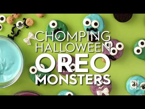 Chomping Halloween Oreo Monsters | Fun With Food | Better Homes & Gardens