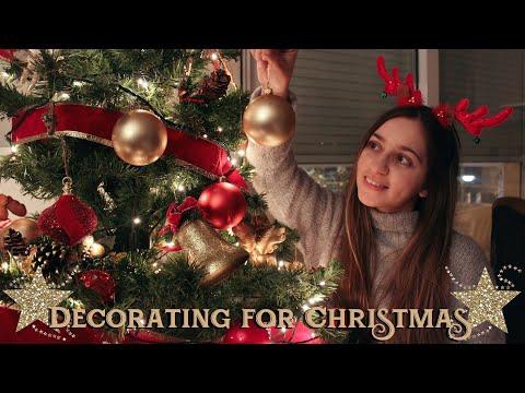 Στολίζω για τα Χριστούγεννα 🎄  (Vlog)