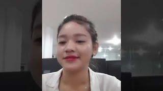 Videos de risada - Chica khmer juega bigo con amigos |   lindo |   Camboya