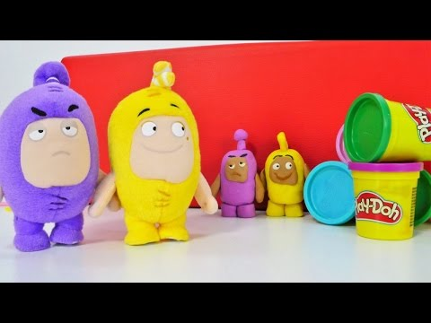 Oddbods Play With #playdoh – Video For Kids With Play-doh – Watch And Learn With #PlayToyTV