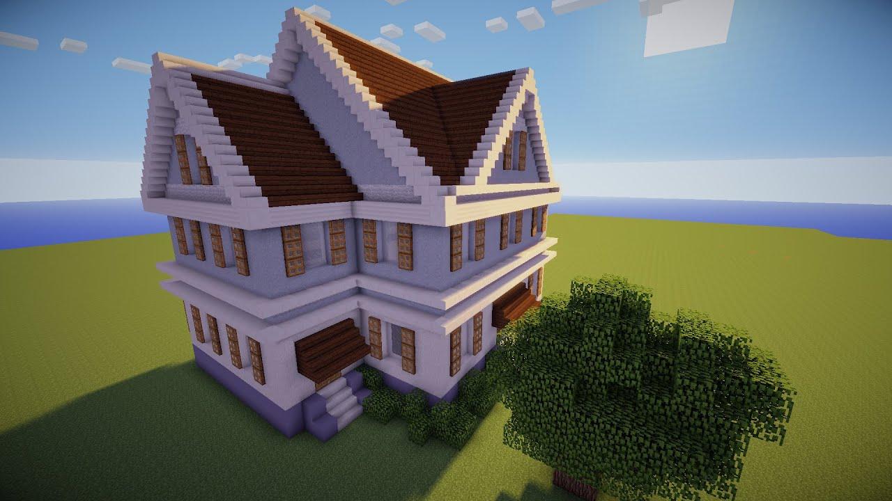 Minecraft Como Fazer Uma Casa Simples Youtube