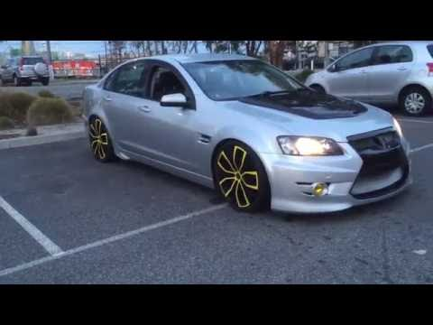 holden ve omega r8 gts clubsports look alike 20inch silver walkinshaw w427 scoop coilover suspension