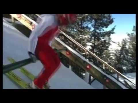 Nordic Ski Jumping Steamboat Springs, Colorado.