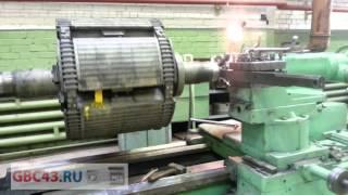 видео ремонт ротора электродвигателя