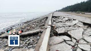 Nam Định: Chưa mưa đê đã lở