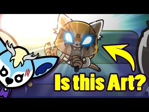 Aggretsuko - Is it Art? [Art Block #18]