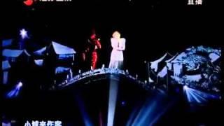 2012 江蘇衛視武漢跨年演唱會 周筆暢全息投影