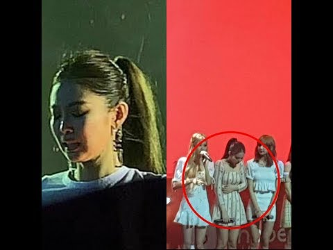 JENNIE was sick at macao concert