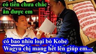 Thử vào quán lẩu bò Kobe Wagyu kêu tất cả các loại bò Kobe Wagyu mắc nhất và cái kết bất ngờ
