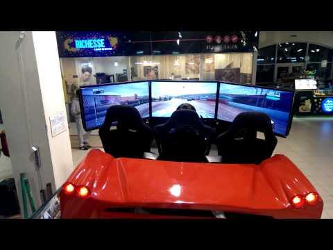 6dof racing simulator of active-game