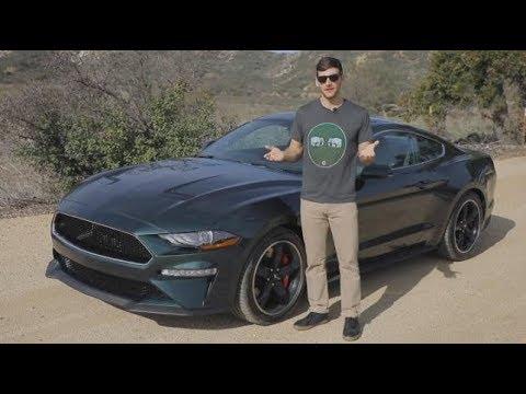 Ford Mustang BULLITT First Drive Video Review