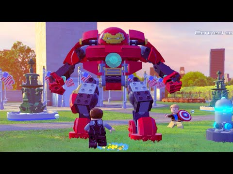 Lego Marvels Avengers How to get Underground in Washington D.C. Hub