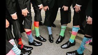 New Trend: Men's Colorful Socks Lookbook & Fashion Trends 2018 - 2019