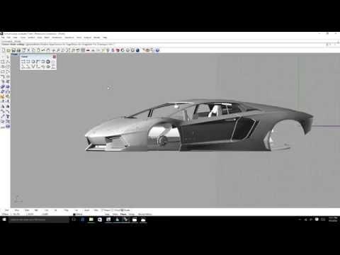 Rhino 3D modeling tutorial - Beginner 3 of 3.