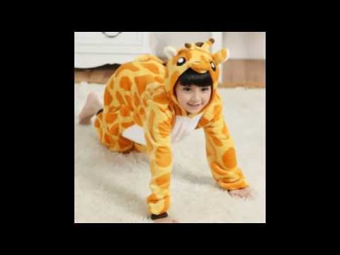 Animal onesie pajamas for kids