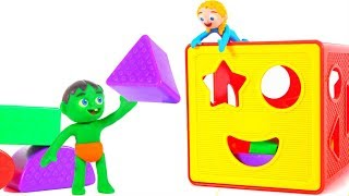 Kids Learning Shapes ❤ Cartoons For Kids