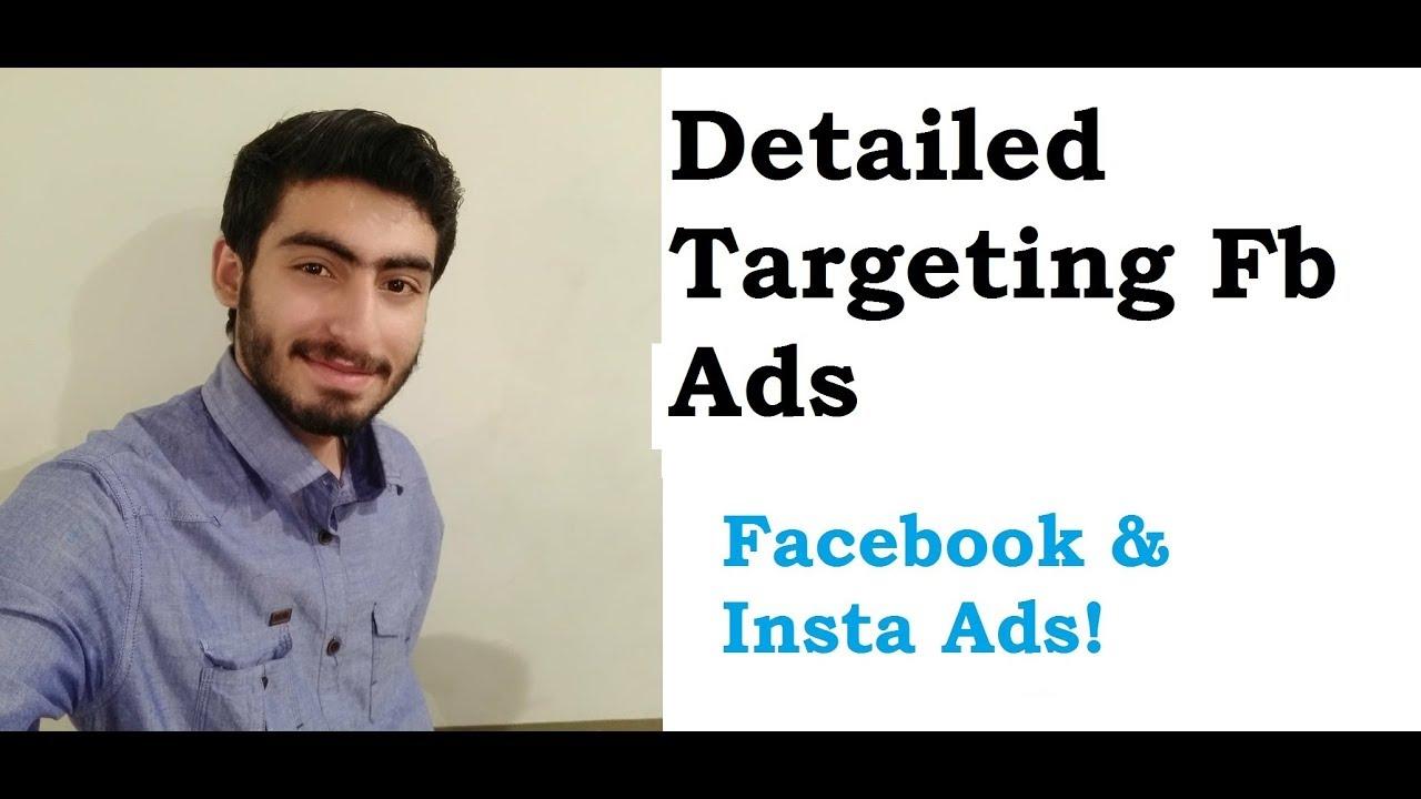 5. Detailed Targeting in Facebook Ads in Urdu/Hindi | Facebook Ads  in Urdu/Hindi