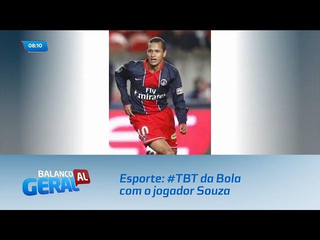 Esporte: #TBT da Bola com o jogador Souza