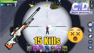 POWER OF SNIPER!!! - Creative Destruction PC gameplay #5