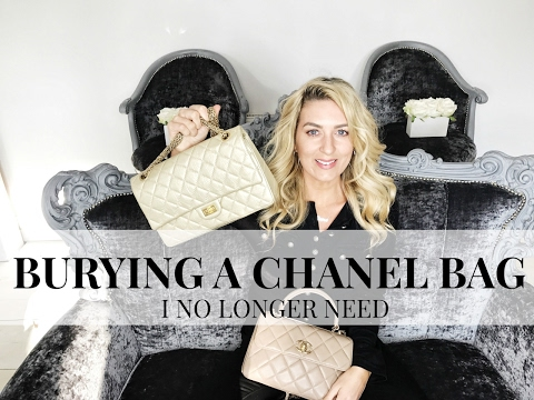 BURYING A CHANEL BAG I NO LONGER NEED | CHANEL  REVEAL | IAM CHOUQUETTE