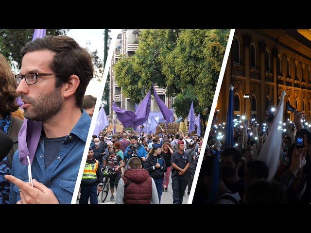 Több ezren tüntettek a sajtószabadság és az index.hu mellett | Jövő TV