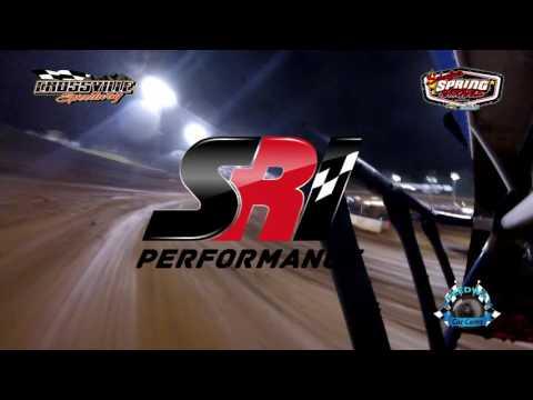 #8P Ronnie Choate - Super Late Model - 5-19-17 Crossville Speedway - In-Car Camera