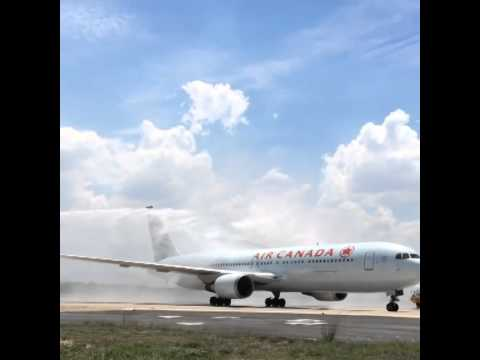 Air Canada AC98 12Dec 2014 First Flight In Rio