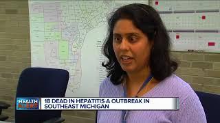 18 dead in Hepatitis A outbreak in Southeast Michigan
