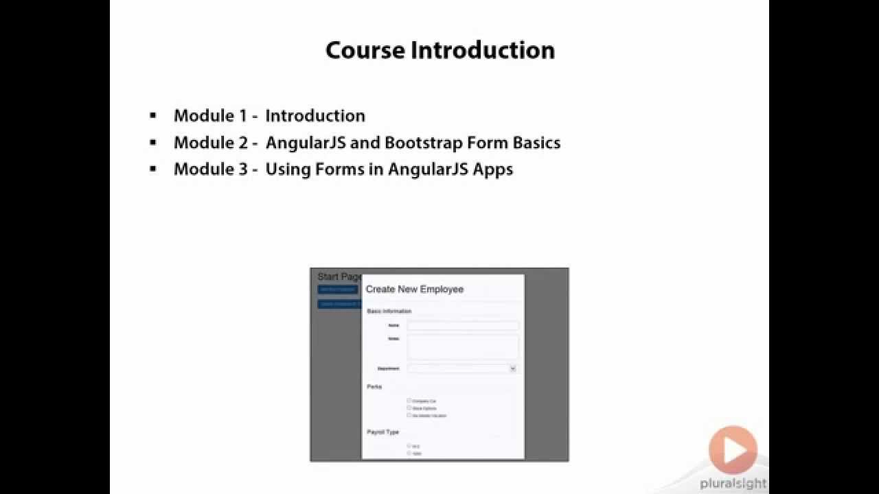 AngularJS Forms Using Bootstrap and MVC 5