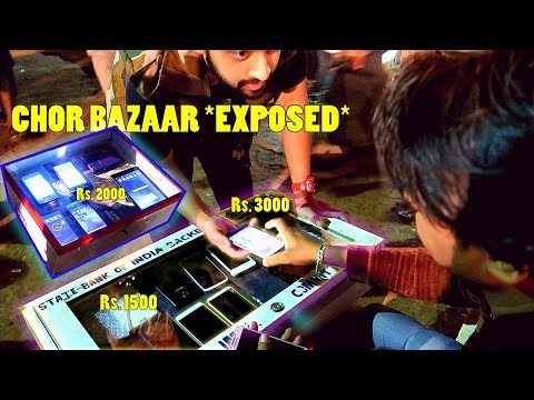 CHOR BAZAAR MUMBAI 2018 REALITY *EXPOSED* !! Mobile Phones in Cheap Price