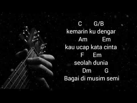 Taxi Band Hujan Kemarin Kord Gitar Mudah Youtube