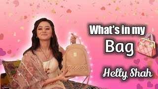 What's In My Bag | Helly Shah