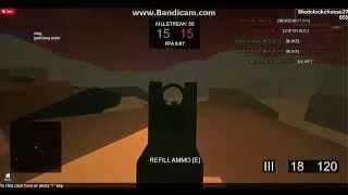 BATTLEFIELD NUKE ACR 98 killstreak/ROBLOX