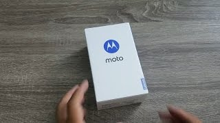 Moto G4 Plus 64GB Unboxing and First Impressions