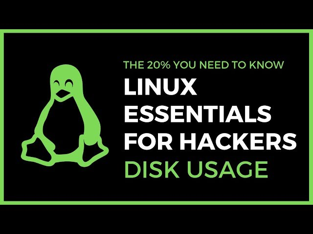 Linux Essentials For Hackers - #11 - Disk Usage