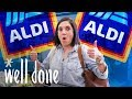 Mom Shops at Aldi for Big Savings on Groceries for a Family of Five  | Mom Vs. | Well Done
