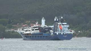 DEO VOLENTE Departs from the port of Ferrol towards Nice (FR) - 3 june 2019