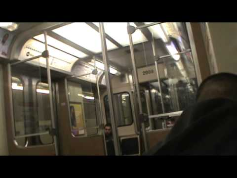 CTA Blue Line - Cumberland to Jackson via Freeway, Subway and Elevated