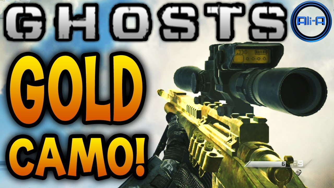 Call of duty ghost gun camo | Weapon Camouflage  2019-02-20