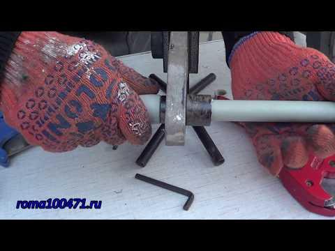 Как работает паяльник для полипропиленовых труб видео