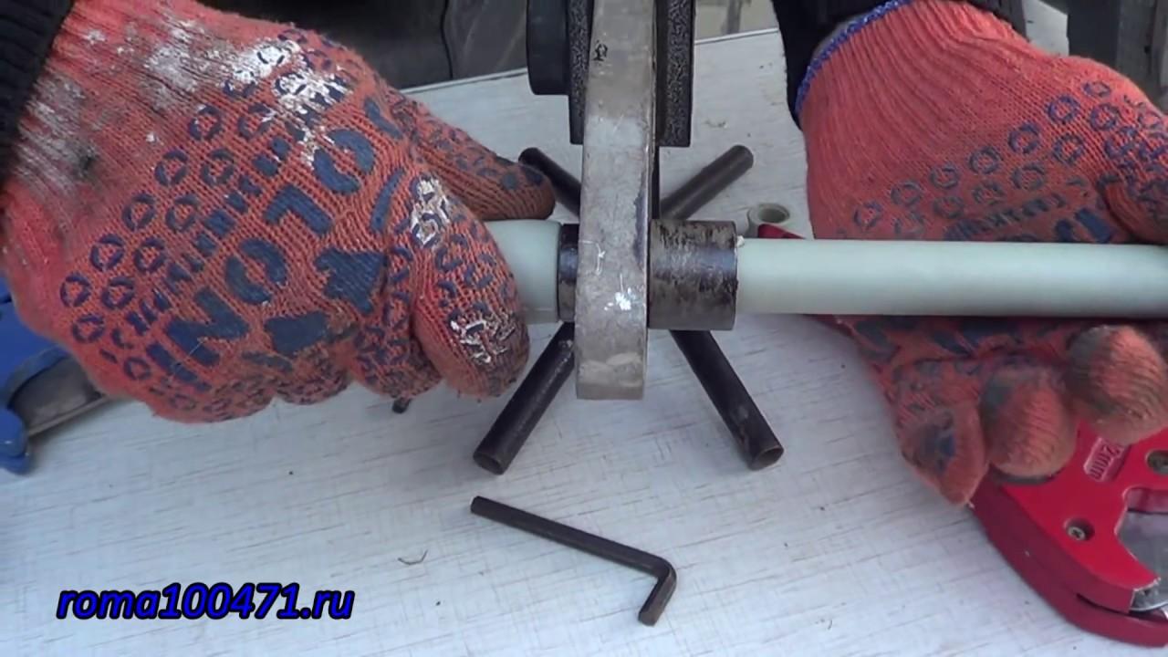 Пайка полипропиленовых труб, технология, инструменты