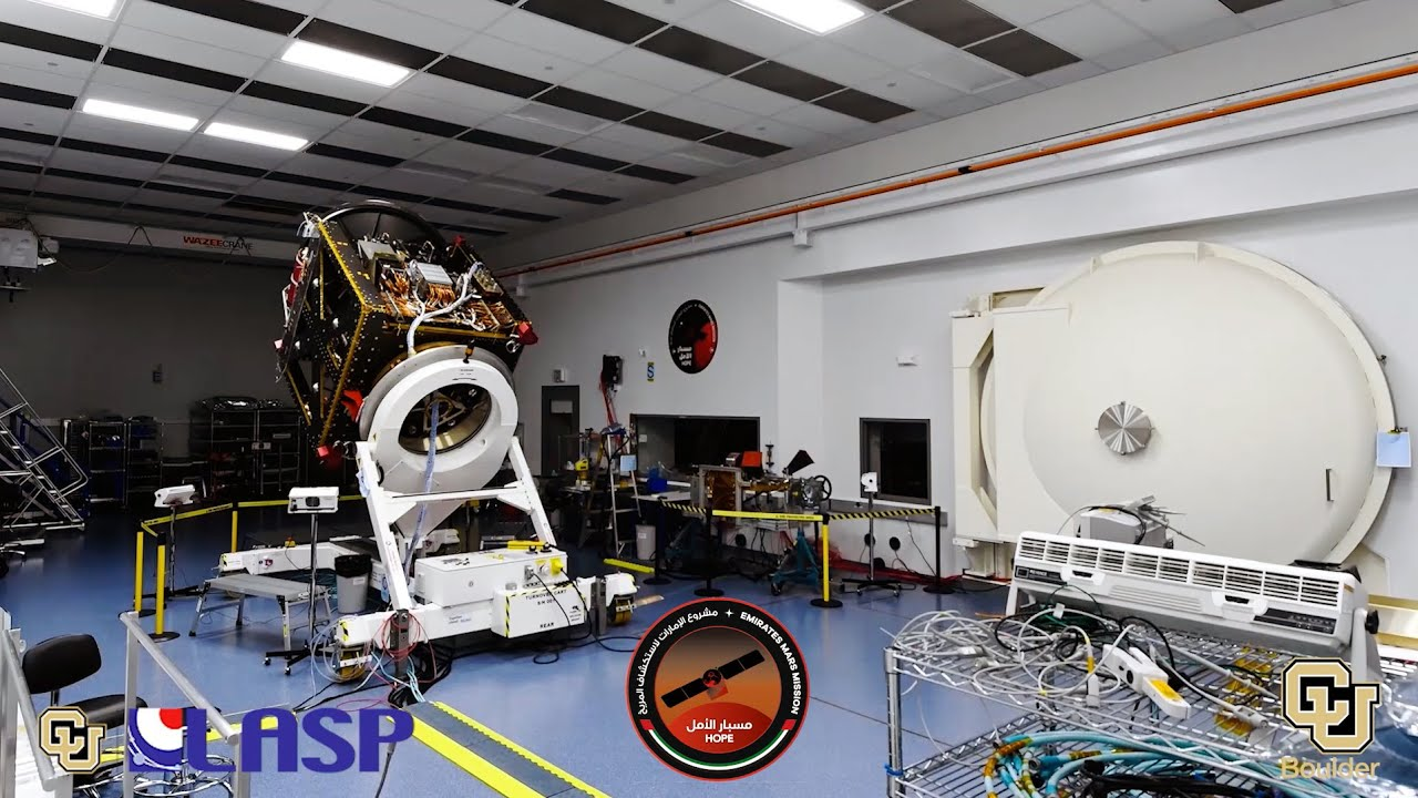 A Mars spacecraft is born - University of Colorado Boulder