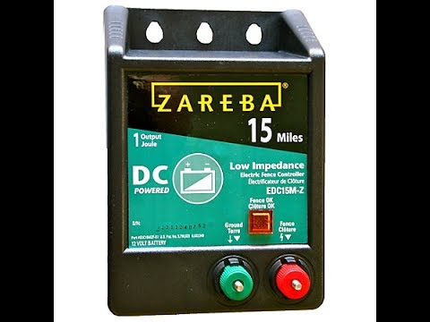 Zareba Dc Powered Electric Fence Install To Protect