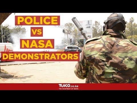 NASA anti-IEBC demos enter week four despite ban