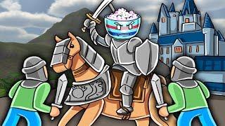 Roblox - GUERRAS MEDIEVALES: Base vs Invasores! (Roblox Valor)